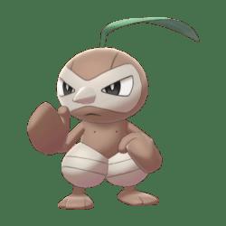 Pokemon Sword and Shield Nuzleaf