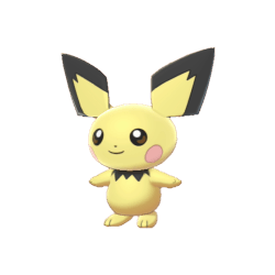 Pokemon Sword and Shield Pichu