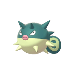 Pokemon Sword and Shield Qwilfish