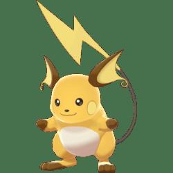 Pokemon Sword and Shield Raichu