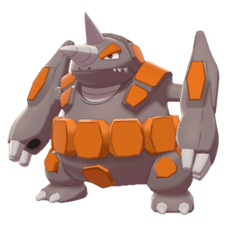 Pokemon Sword and Shield Rhyperior