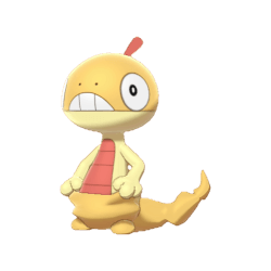 Pokemon Sword and Shield Scraggy