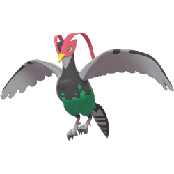Pokemon Sword and Shield Unfezant