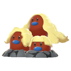 Pokemon Sword and Shield Shiny Alolan Dugtrio