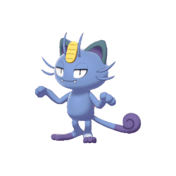Pokemon Sword and Shield Shiny Alolan Meowth
