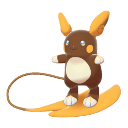 Pokemon Sword and Shield Shiny Alolan Raichu