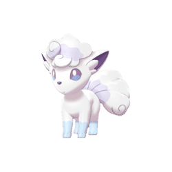 Pokemon Sword and Shield Shiny Alolan Vulpix