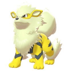 Pokemon Sword and Shield Shiny Arcanine