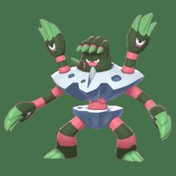 Pokemon Sword and Shield Shiny Barbaracle