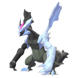 Pokemon Sword and Shield Shiny Black Kyurem