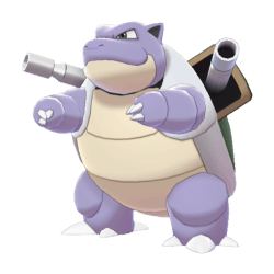 Pokemon Sword and Shield Shiny Blastoise