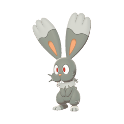 Pokemon Sword and Shield Shiny Bunnelby
