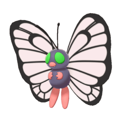 Pokemon Sword and Shield Shiny Butterfree