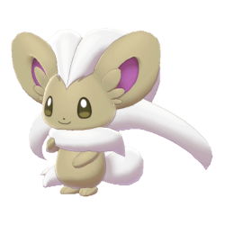 Pokemon Sword and Shield Shiny Cinccino