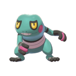 Pokemon Sword and Shield Shiny Croagunk