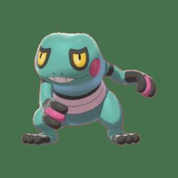Pokemon Sword and Shield Shiny Croagunk