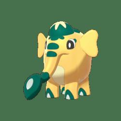 Pokemon Sword and Shield Shiny Cufant