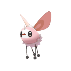 Pokemon Sword and Shield Shiny Cutiefly