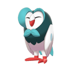 Pokemon Sword and Shield Shiny Dartrix