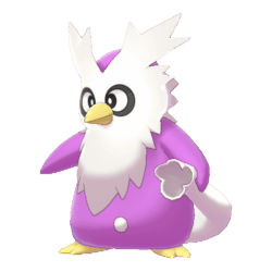 Pokemon Sword and Shield Shiny Delibird