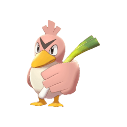 Pokemon Sword and Shield Shiny Farfetch'd