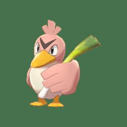 Pokemon Sword and Shield Shiny Farfetch'd