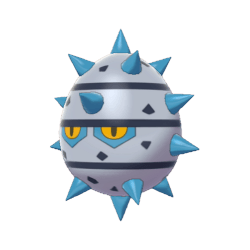 Pokemon Sword and Shield Shiny Ferroseed