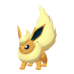 Pokemon Sword and Shield Shiny Flareon