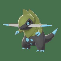 Pokemon Sword and Shield Shiny Fraxure