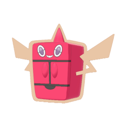 Pokemon Sword and Shield Shiny Frost Rotom