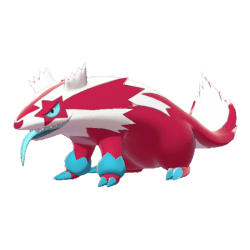 Pokemon Sword and Shield Shiny Galarian Linoone