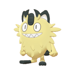Pokemon Sword and Shield Shiny Galarian Meowth