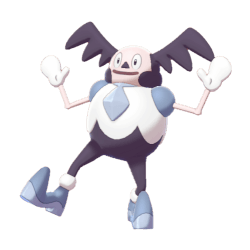 Pokemon Sword and Shield Shiny Galarian Mr. Mime