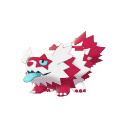 Pokemon Sword and Shield Shiny Galarian Zigzagoon