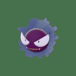 Pokemon Sword and Shield Shiny Gastly