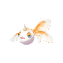 Pokemon Sword and Shield Shiny Goldeen