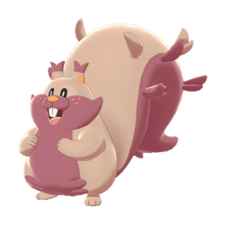 Pokemon Sword and Shield Shiny Greedent