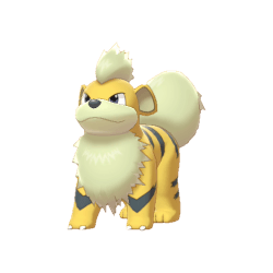 Pokemon Sword and Shield Shiny Growlithe