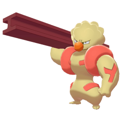 Pokemon Sword and Shield Shiny Gurdurr