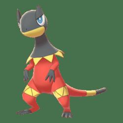 Pokemon Sword and Shield Shiny Heliolisk