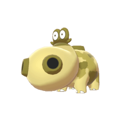 Pokemon Sword and Shield Shiny Hippopotas