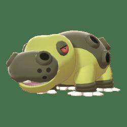Pokemon Sword and Shield Shiny Hippowdon