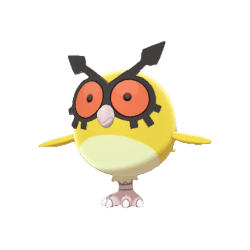 Pokemon Sword and Shield Shiny Hoothoot