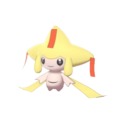 Pokemon Sword and Shield Shiny Jirachi