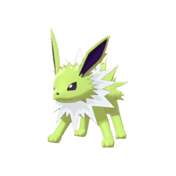 Pokemon Sword and Shield Shiny Jolteon
