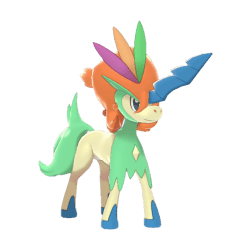 Pokemon Sword and Shield Shiny Keldeo Resolute