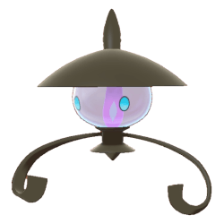 Pokemon Sword and Shield Shiny Lampent