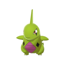 Pokemon Sword and Shield Shiny Larvitar