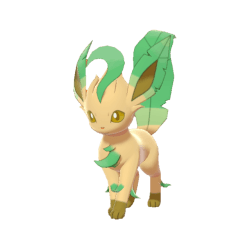 Pokemon Sword and Shield Shiny Leafeon
