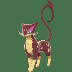 Pokemon Sword and Shield Shiny Liepard